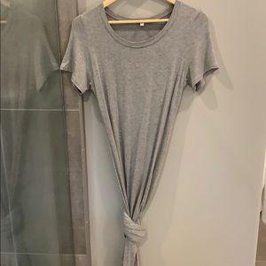 Tshirt maxi dress